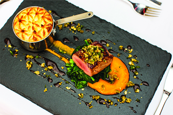 Our exquisite 'Assiette of Lamb' of pan-seared loin and braised ...