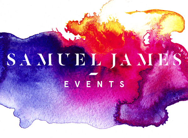 Samuel James Events Watercolour