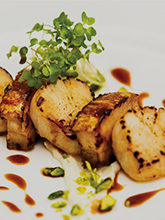 Seared Scallops and Belly Pork