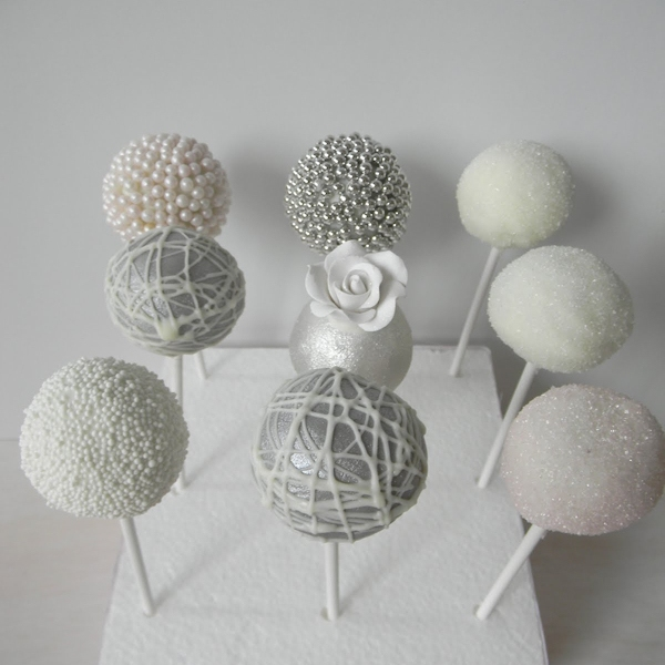 Wedding Cake Pops Sj Events